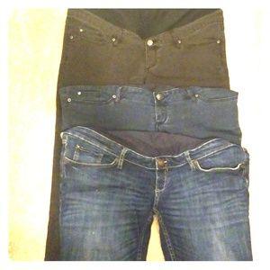 3 Maternity Jeans